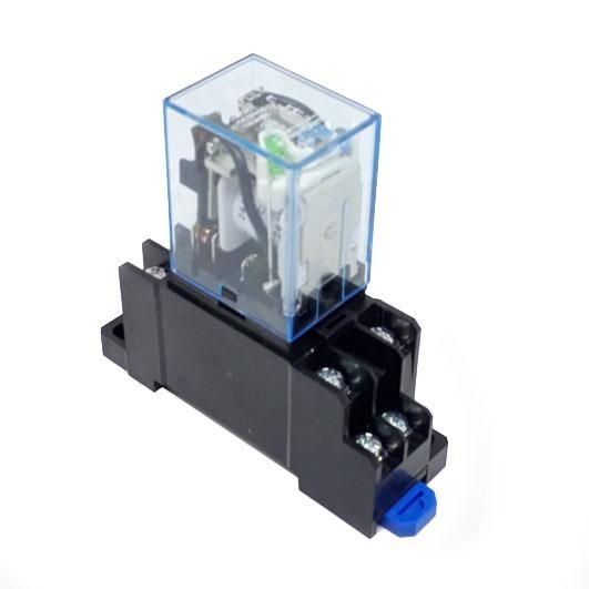 Ly2nj 24vcc Modulo Relé Acoplador Interface Com Socket