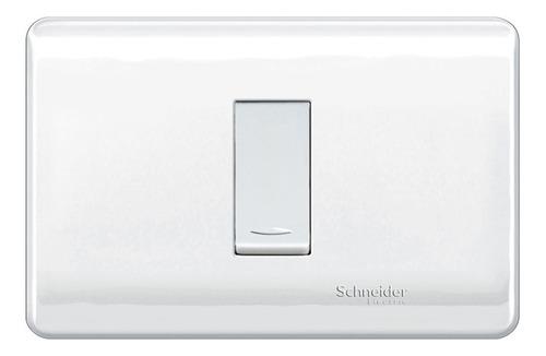 Interruptor Sencillo Genesis 16 A 250 V Blanco