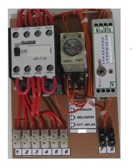 Sistema De Tirar Pico De Partida Motor Geladeira Solar 110v