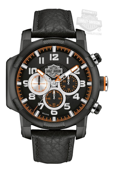 Relógio Bulova Masculino Harley Davidson - Wh30555p -761b39