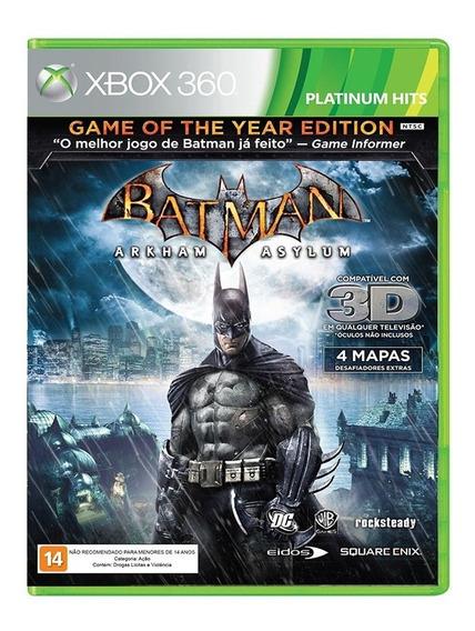 Jogo Batman Arkham Asylum - Xbox 360
