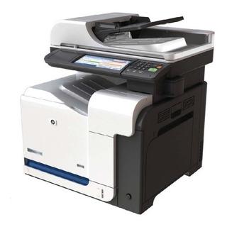 Impresora Multifunción Hp Serie Color Laserjet Cm3530 Usada