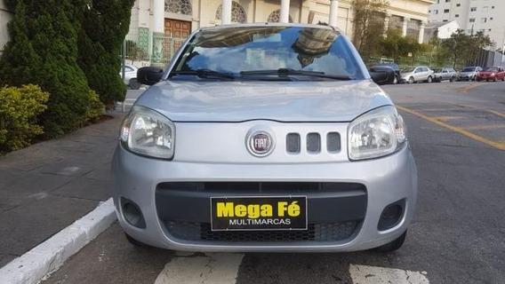 Fiat Uno Vivace 1.0 8v Flex 2p 2013 Prata Doc Ok