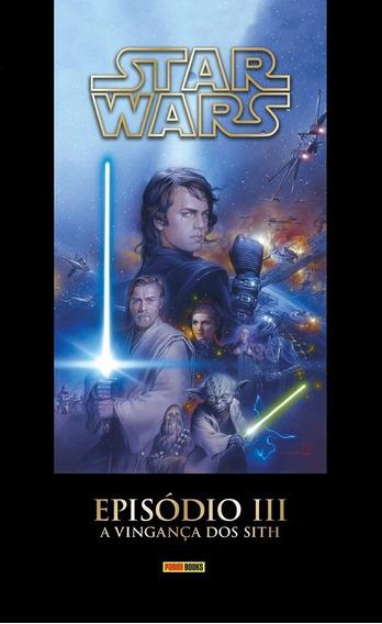 Livro Star Wars - Episódio 3 A Vingança Dos Sith - Capa Dura