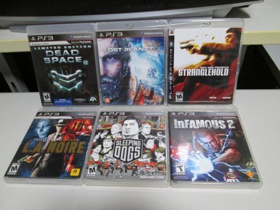 Playstation 3 Combo De 6 Jogos Diversos