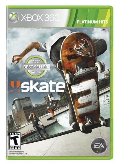 Skate 3 Xbox 360 Mídia Física Novo Lacrado Original + Brinde