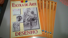 Revistas Escola De Arte - Volumes 1, 2,3,4, 5, E 6.