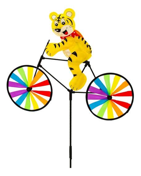 Cata Vento Bicicleta Animais Decoração Jardim Sino Dos Vento