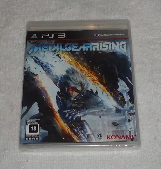 Metal Gear Rising Lacrado Ps3 ** Frete Gratis Leia