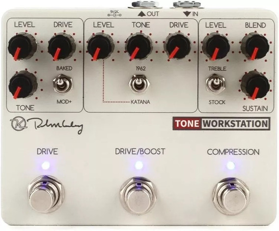 Pedal Keeley Tone Workstation Compressor
