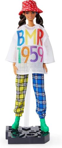 Barbie Bmr1959 Morena Tranças Chapéu Linha 2020 Articulado