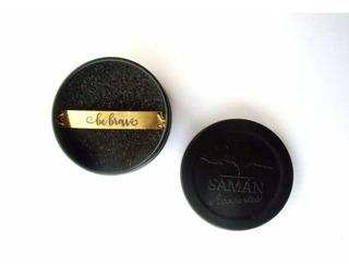 Pulsera Acero Inoxidable Baño De Oro Saman Be Brave