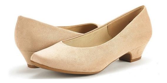 Zapatos Dama Talla 11/28 Dream Pairs Beige Ante Nuevos Ante