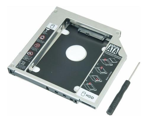 Adaptador Dvd Para Hd Ou Ssd Notebook Drive Caddy 9.5mm