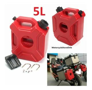 Bidón Combustible 5l Nuevo Moto, Auto, Camioneta