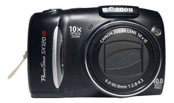 Câmera Canon Power Shot Sx120 Is Retirada De Peças