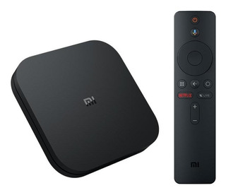 Xiaomi Mi Box S Ctrl Remot Voz 4k 8gb Tv Netflix Chromecast