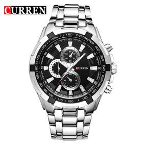 Curren Relógios Original Quartz Top Marca De Luxo Executivo
