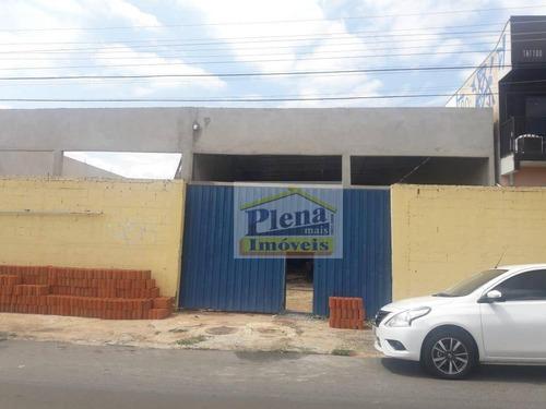 Salão Para Alugar, 180 M² - Jardim Santa Rita De Cássia - Hortolândia/sp - Sl0976