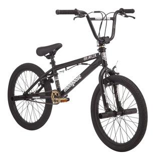 Bicicleta Mongoose Brawler Freestyle Bmx 20 Negra