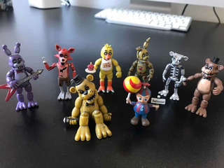 Figuras Five Nights At Freddys Importados Impecables