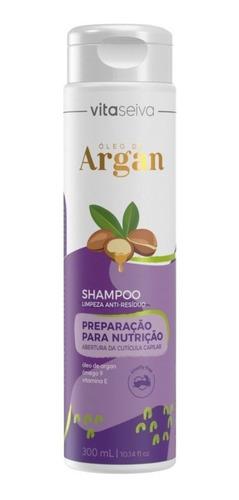 Shampoo Limpeza Anti-residuo Lançamento Oleo De Argan 300ml