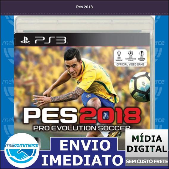 Pes 2018 Digital Psn Envio Imediato