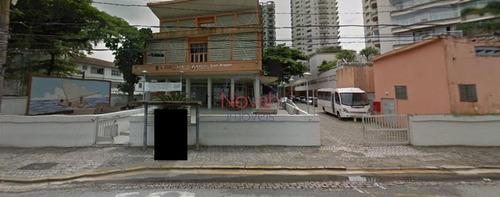 Prédio Para Alugar, 2770 M² Por R$ 80.000,00/mês - Ponta Da Praia - Santos/sp - Pr0020