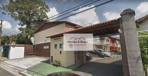 Imagem 1 de 27 de Sobrado De Condomínio - 3 Dormitórios - 3 Suítes - Por R$ 440.000 - Vila Rosália - Guarulhos/sp - So0214