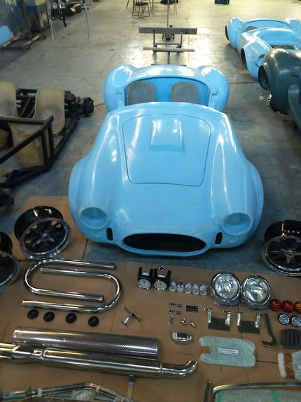 Ford Shelby Cobra Kit Carroceria E Chassi