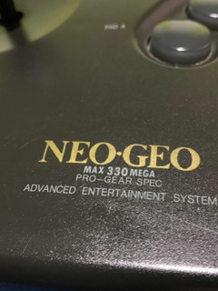 Control / Mando Snk Consola Arcade Neo Geo Aes Envío Gratis.