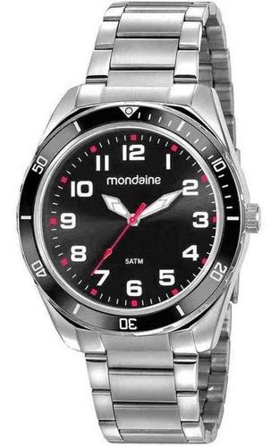 Imagem 1 de 1 de Relógio Masculino Analógico Mondaine Prata 53768gomvne1