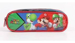 Estojo Duplo Super Marios Bros - Original
