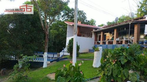 Chácara Com 3 Dormitórios À Venda, 3000 M² Por R$ 549.000,00 - Ibiúna - Ibiúna/sp - Ch0022