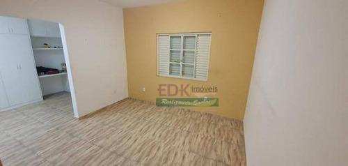 Casa Com 4 Dormitórios À Venda, 246 M² Por R$ 745.000 - Monte Castelo - São José Dos Campos/sp - Ca5118