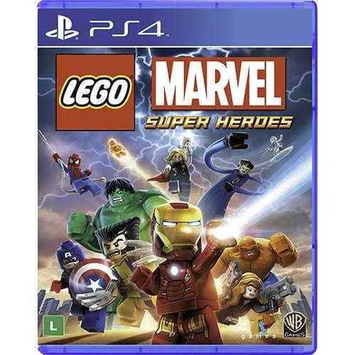 Jogo Lego Marvel Super Heroes Playstation 4 Ps4