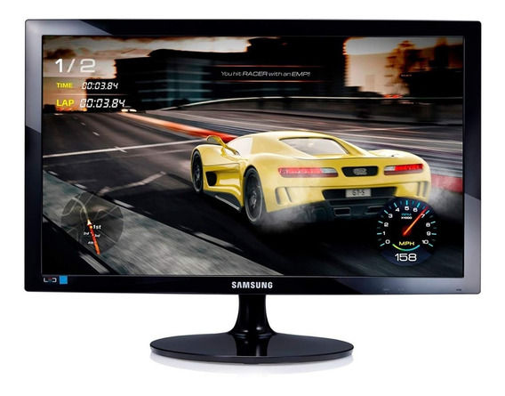 Monitor Gamer Led 24poleg Fullhd Hdmi 1ms 75hz Samsung 24d33