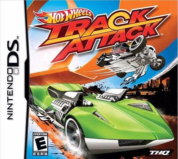 Jogo Hot Wheels Track Attack Nintendo Ds Nds 3ds Portuguës
