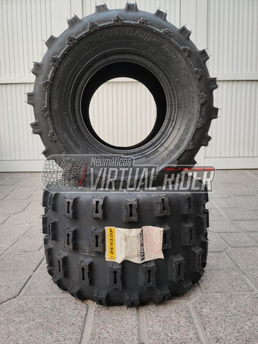 Imagen 1 de 2 de Cubierta 18x10-8 Dunlop Kt385