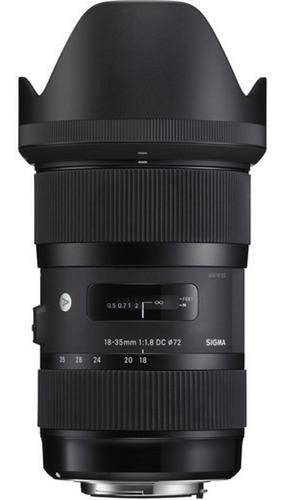 Imagem 1 de 5 de Lente Sigma 18-35mm F/1.8 Dc Hsm P/ Canon - Pronta Entrega
