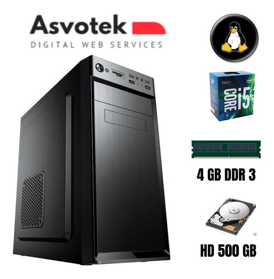 Computador Intel Core I5 4gb Hd500 Asvotek