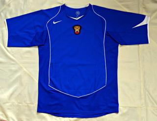 Camisa Oficial Nike Rússia 2004/05 Total 90 Away S/n - Elton