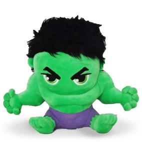 Pelúcia Herói Hulk Vingadores Marvel 23cm Dtc