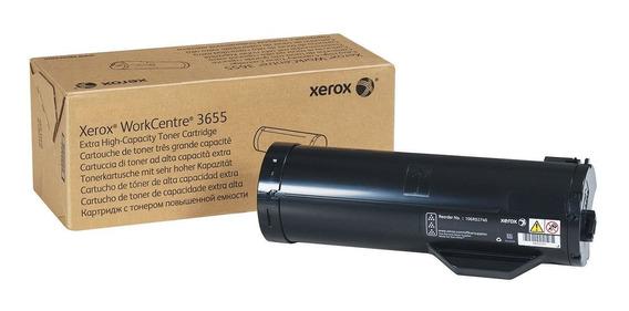 Toner Xerox 3655 Original Workcentre Impresora 106r02741