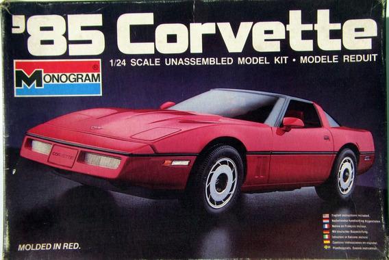 1985 Corvette - 1/24 - Monogran - Kit Raro