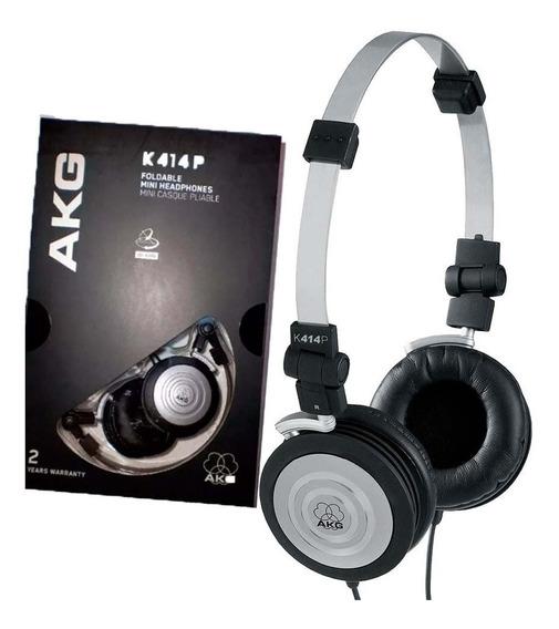 04 Fone Profissional Akg Headphone K-414 P Original (4 Und)