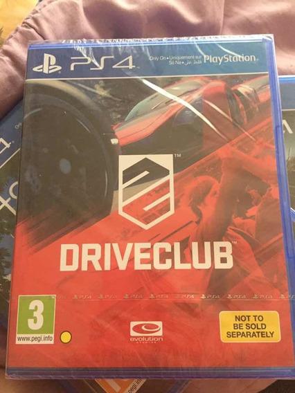 Jogo Driveclub Playstation 4, Midia Física, Lacrado