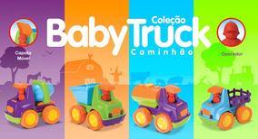 Caminhões Baby Truck - Roma Brinquedos