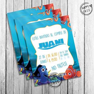 Tarjetas De Invitacion De Nemo En Mercado Libre Argentina