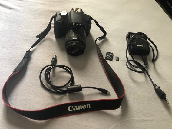 Câmera Profissional Canon Eos Rebel T5 Com Lente 18-55mm